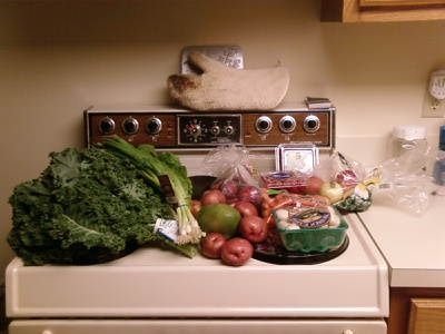 First delivery from Orlando Organics