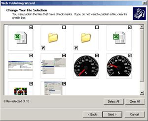 SendTo folder with Web Publishing Wizard Shortcut