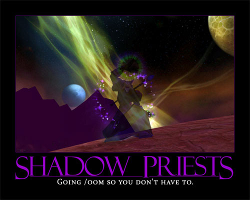 Shadow Priests: Going /oom so you don't have to.